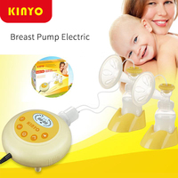 New upgrade Kinyo Double Electric Breast Pump Baby Milk Double core Bottle Silent Automatic Double Sides Nursing Breast Pumps