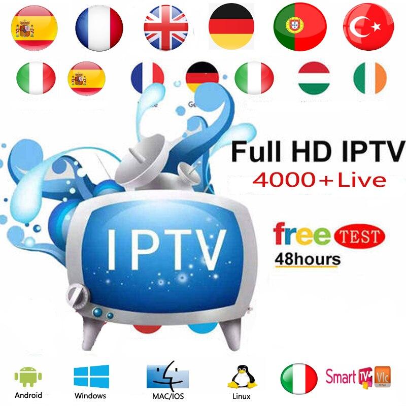 IPTV European Subscription Portugal Spain Italy IPTV M3U Germany French Italia Belgium Netherlands IPTV Android PC Smart TV Box