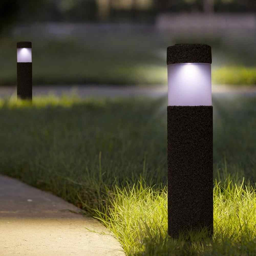 luz solar led impermeable para jardin lampara solar para camino patio piedra luces solares para exterior