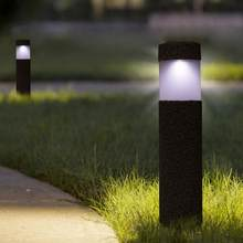 Waterproof Sunlight LED Solar Light For Garden Outdoor Solar Lamp For Path Courtyard Stone Lamp luces solares para exterior(China)