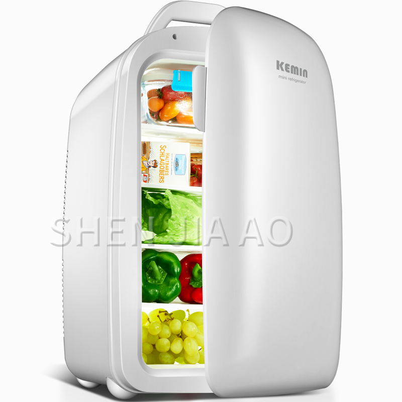 28L Mini Refrigerator Small Home Single Door Refrigerator Refrigerated Portable Car Fridge Student Dormitory Refrigerator