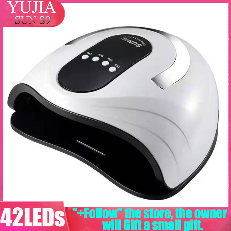 YUJIA 120W SUN S9 UV LED Nail Lamp Nail Dryer Ice Lamp For Manicure Gel Nail Lamp Drying Lamp For Gel Varnish 10/30/60s Timer