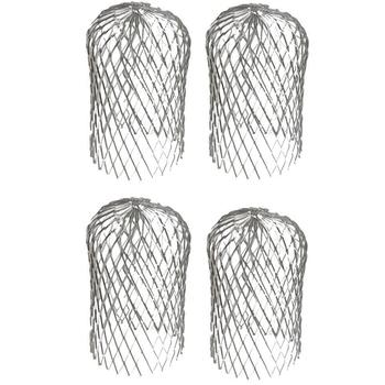 New-4PCS filtr liści filtr przeciwskrzydłowy okap ogrodowy filtr rurowy filtr rurowy swobodnie chowany filtr tanie i dobre opinie NONE CN (pochodzenie)