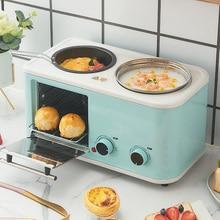 Toaster Breakfast-Machine Food-Steamer Oven Bread Electric Household Mini 3-In-1 Boiler