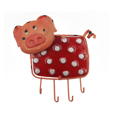 Metal Garden Statue Cow Wall Artwork for Home and