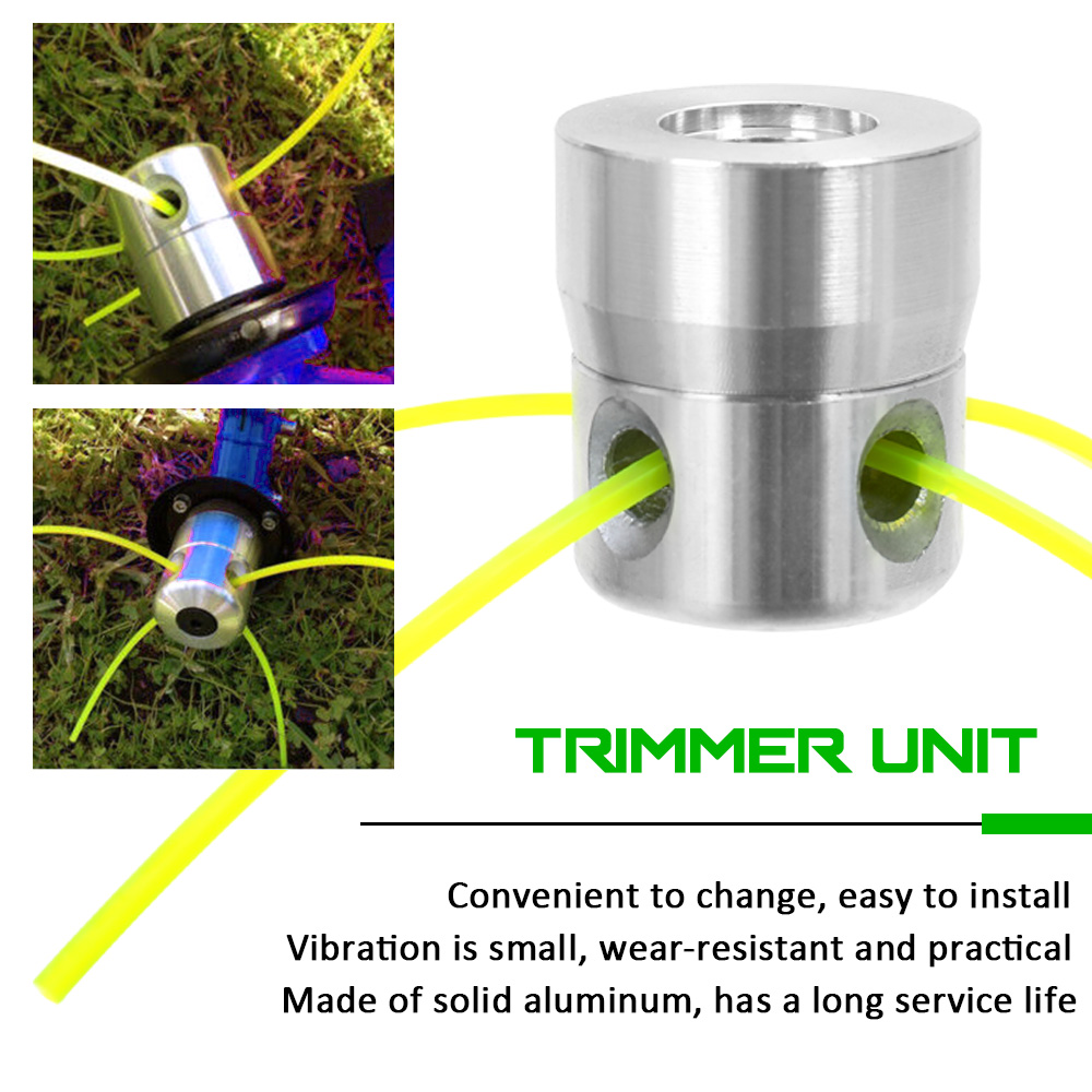 Garden Tool Parts Aluminium Head Trimmer Grass Spool Set For Gasoline Brushcutter For Lawn Mower Spool For Trimmers