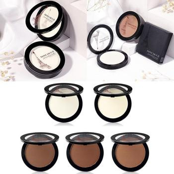10g Natural Foundation Shimmer Concealer Brighten Dark Skin Face Powder Contour Bronzer Highlighter Makeup Shimmer Women Makeup