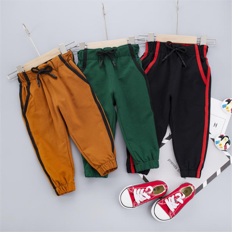 Kids Pants Boys Casual Pants Kids Clothing Cotton Boys Long Trousers Children Boys Clothing Sport Pants Spring Autumn Pants