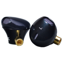 Diy fone de ouvido cabeça quente som tomada mmcx 1 par (L + R)