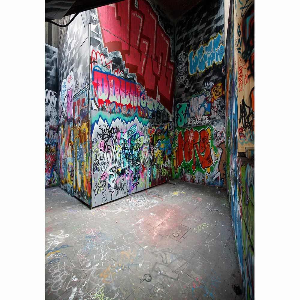 Allenjoy sfondo per il servizio fotografico muro di Graffiti stereo street art photography studio photophone photocall photozone photobooth