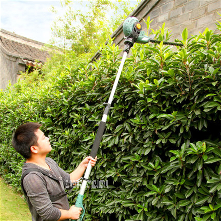 ET1206 Electric High-altitude Pruning Shear Gardening High Branch Saw Household Telescopic Hedge Trimmer AC220V 450W 1600rpm