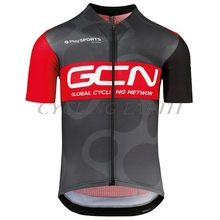 GCN 2020 Men Shirts short sleeve cycling jerseys Tops Summer Bike Clothing shirts MTB Bicycle Wear Sport wear cheap Cycling Earth Polyester spandex GCN Bicycle Racing Shirts Full Zipper Fits smaller than usual Please check this store s sizing info