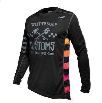 Camisa para Ciclismo e Motocross Camisa de Secagem Rápida para Corrida de Motocross dh e Mountain Bike Mtb mx Bmx 2020