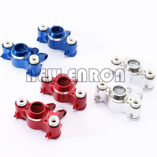 Nieuwe Enron #5334 Voor/Achter Aluin Steering Blok Knuckle As Dragers W/Lager Voor Rc Auto Traxxas 1/10 E REVO Summit E MAXX Revo