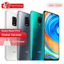 Global Version Xiaomi Redmi Note 9 Pro Smartphone 6GB 128GB Snapdragon 720G 64MP Quad Cams 5020mAh Mobile Phones 30W SuperCharge