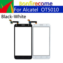 10Pcs los Touchscreen Für Alcatel One Pixi 4 5,0 OT5010 OT 5010 5010D 5010E 5010X Touch Screen Panel Sensor digitizer Glas(China)