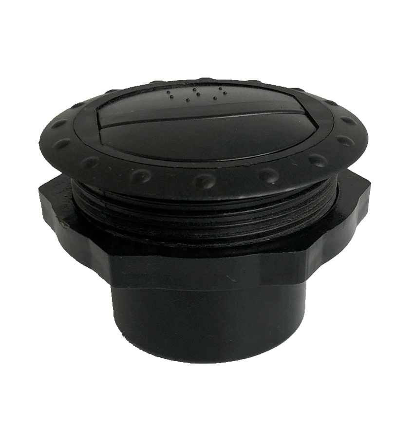 DEMOTOR PERFORMANCE Universal 60mm Round A//C Air Conditioning Outlet Vent for RV Bus Car Boat Yacht