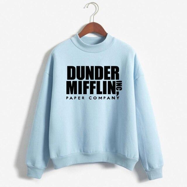 Tops The Office Tv Hoodie Men Women Dunder Mifflin Inc Paper Company Wernham Hogg TV Show Michael Scott Space Sweatshirt 5
