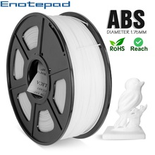 1kg ABS Filament Enotepad 1 75mm Plastic Spools Manufacturer Full Colors 3D Chemical Resistance Material With