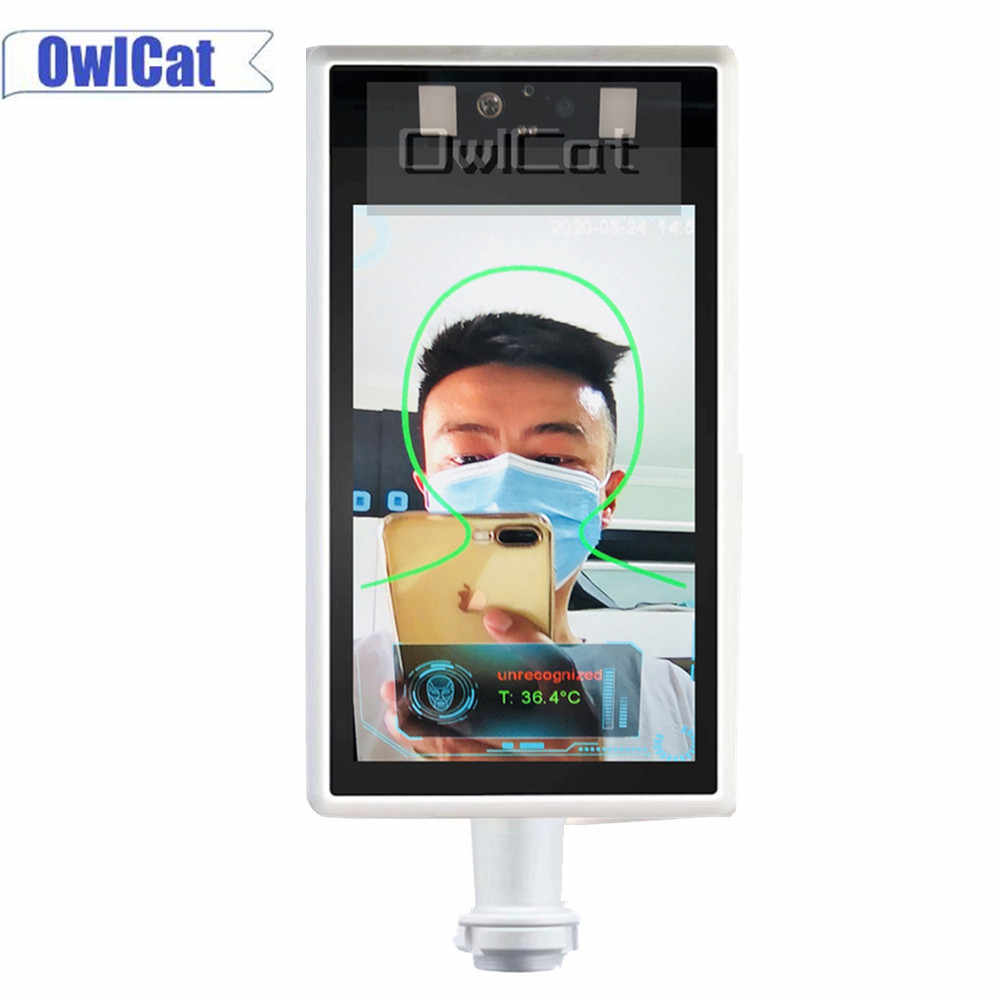 Камера видеонаблюдения AI термальная HD 1080P распознавание лица ip-камера для обнаружения температуры тела маска для обнаружения 30000 лиц