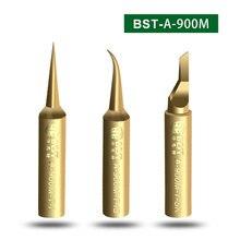Löten Eisen Tipps 900M-T-I/IST/SK Blei-freies Sauerstoff-freies Kupfer 0,03mm Fly Linie Schweißen spitze für Hakko 936/937 Station BGA Rework