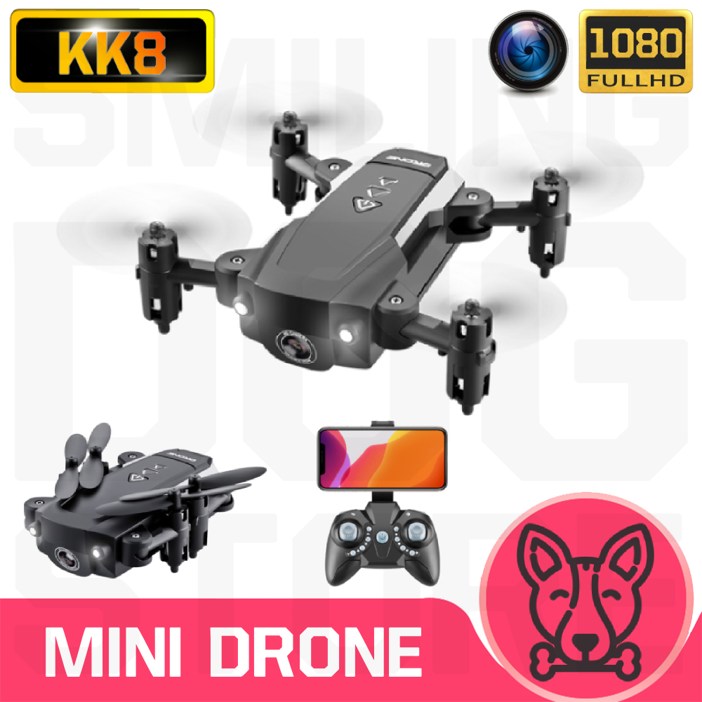 KK8 Mini Drone With Without HD Camera Hight Hold Mode WiFi FPV Foldable Helicopter VS E61 HS210 E511S S9HW E016H RC Quadcopter