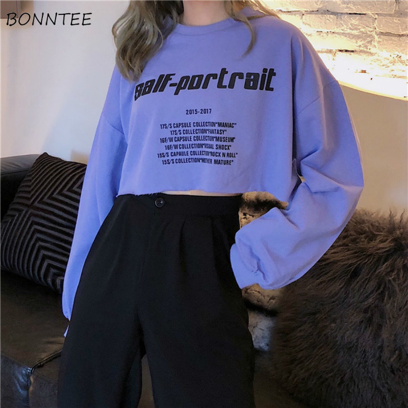 T-shirts Women O-Neck Loose All-match Korean Style High Quality Ladies Womens Harajuku Hip Hop Ladies Soft Leisure Clothing New
