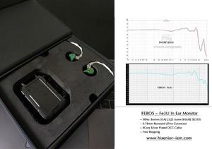 Image 3 - A6T MMCX Custom IEM Monitor Earphone for Phone In Ear and Noise Cancelling with 1.2M OCC Detachable Cable