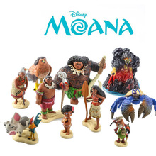 Disney Princess Anime Figure Marine Romance Moana Princess Doll Action Figure Model Toys for Children Kids Birthday Gift  A86