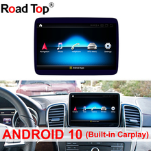 9 pollici 4 + 64G Android 10 Android Display per Benz ML GL W166 X166 Auto Radio GPS Dello Schermo di navigazione Bluetooth Head-UP Touch Screen