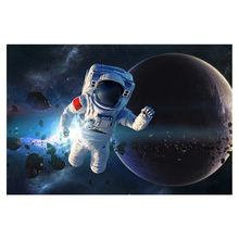 Rompecabezas espacial Para niños y Adultos, juguete educativo de 1000 piezas, de 75x50cm, gran oferta