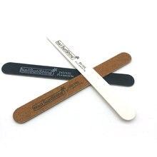 50 шт/лот крепкий плотный деревянный пилочка для ногтей Многожильная