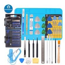 100 IN 1 di Precisione di Riparazione Tool Kit Multi Funzione Set di Cacciaviti Magnetico Driver Kit Per il Tablet iPad di iPhone Macbook strumento di riparazione