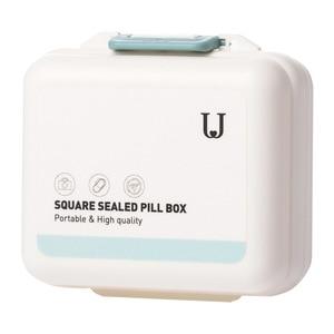 Image 5 - Youpin Jordan&Judy PP Portable Small Pill Box Sealed Packing Kit Mini Pill Box 7 Compartments Carrying The Medicine Box