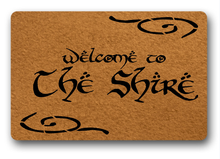 Funny Printed Doormat Non-slip welcome to the shire tive Designed Door Mat Entrance Floor 18x30inch