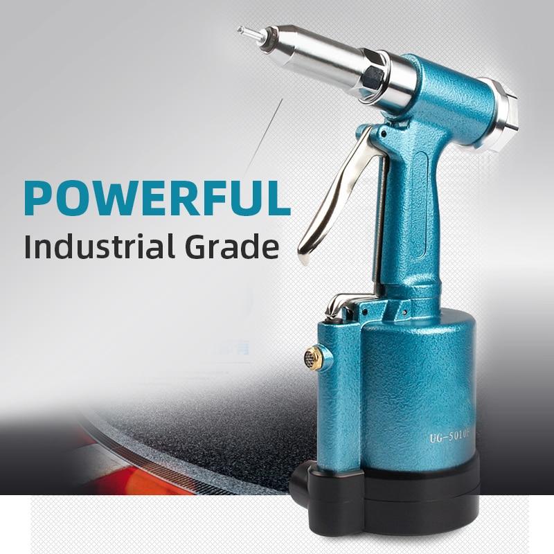 Nut Gun Tool Air Riveter Power Tool Hydraulic Riveting Tool Commercial Pneumatic Rivet Gun For Gas Pressureblind Rivets