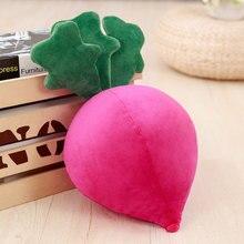 40/70cm Simulation Radish Plush Toy Cute Soft Stuffed Vegetable Pillows For Baby Kids Birthday Gift Sofa Cushion Room Decor