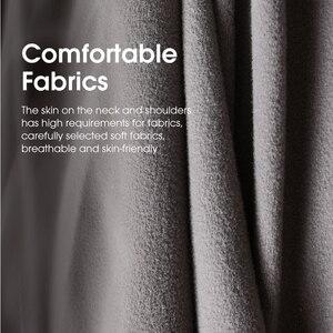 Image 5 - Poggiatesta per Auto cuscino per poggiatesta supporto per la testa cuscino di sicurezza nero automatico decorazioni universali in pelle PU accessori per Auto schienale
