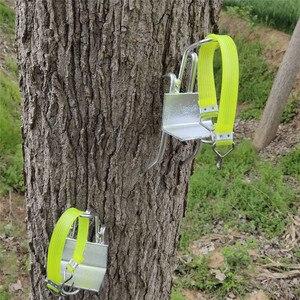Image 4 - Edelstahl Fünf Krallen Baum Klettern Werkzeug Pol Klettern Spikes für Jagd Beobachtung Picking Obst Starke Last Kapazität