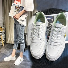 Spring/Autumn 2020 New Women Flats Shoes Fashion Sneakers Pu Leather Breathable Tenis Feminino Lace-up Ladies Shoes High Quality