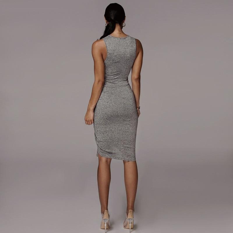 sleeveless mini short dress25