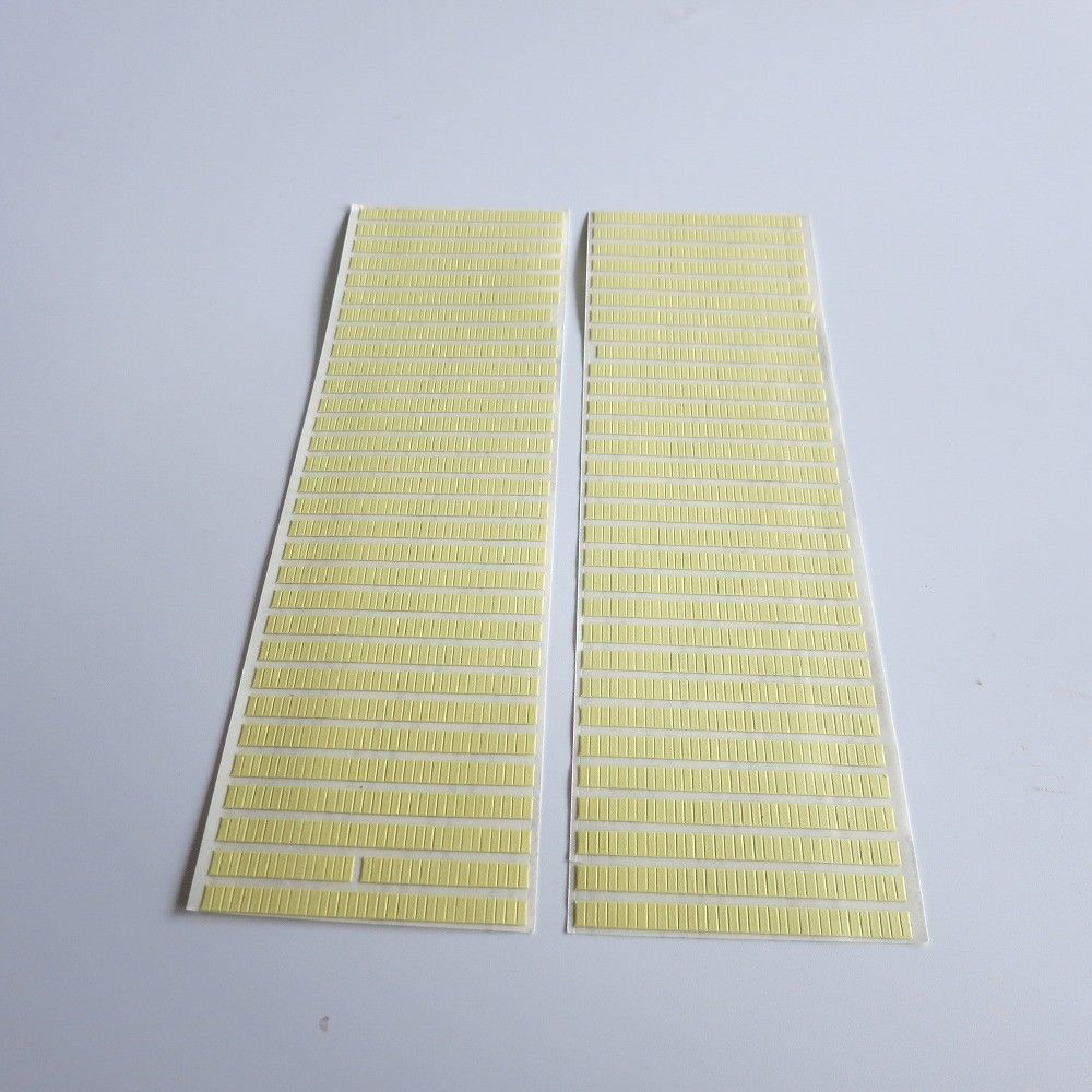 2 Pages/lot Double-sided Adhesive Strip Tape Stickers For Fixing Watch Dial And Movement Wholesale 2000Pcs 2mm*5mm