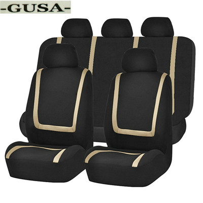 Car-Seat-Cover 5-Seats-Protector Universal Artificial-Leather 9pcs Para for in Forros-De-Asientos