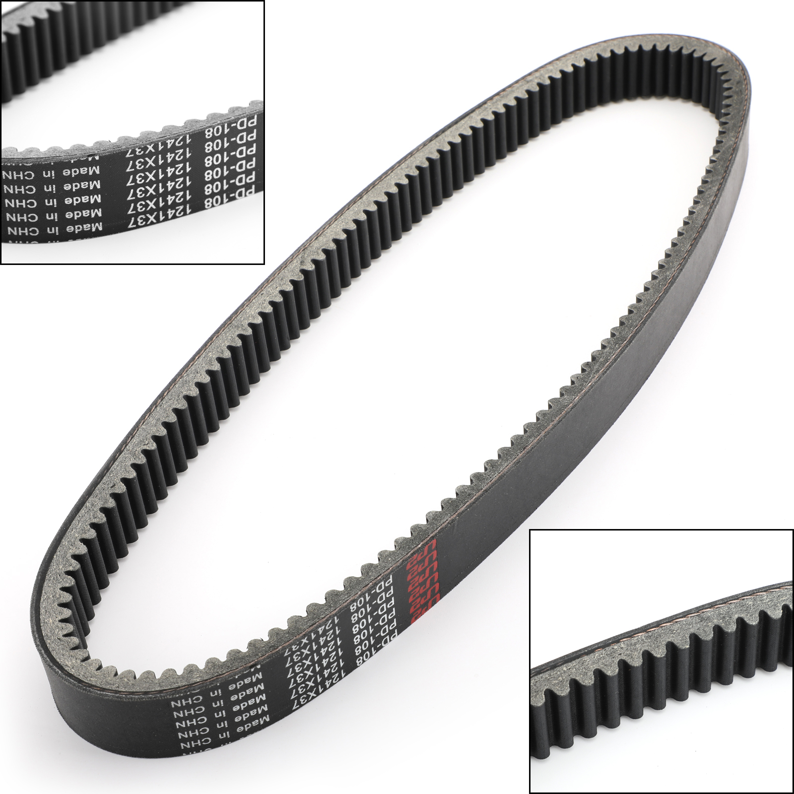 Artudatech 0627-014 Drive Belt 1241OC X 37W For Arctic Cat 0627014 Bearcat Wide Track 440 550 660 Snowmobile Accessories
