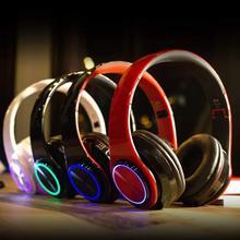 Bt 5.0 gaming fone de ouvido sem fio bluetooth fone de ouvido estéreo mp3 player foldablet