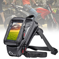 Sports Phone Pocket Touch Screen Leg Bag Storage Motorcycle Casual Outdoor Travel Waist Pouch Zipper Running Multifunctional