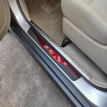 Автомобильный Стайлинг для Mg Zs автомобильные аксессуары из нержавеющей стали, Накладка на порог, защита от потертостей, защита для автомобиля, наклейки