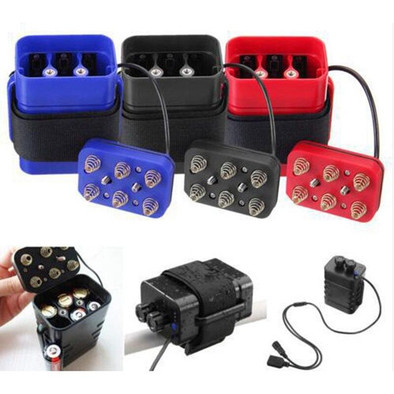 6*18650 Battery Charger Box for Power Bank Battery DC 8.4 V XP7 Waterproof 5V 2A DIY Lithium Battery Charge Box 2000mAh(max)