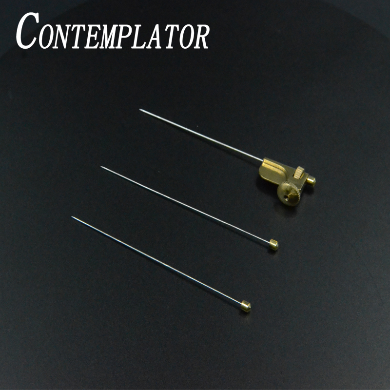 Contemplator 3 Sizes Needles Attachment Tube Fly Adapter Fly Fishing Widgets 1set Tapered Needle Tube Brass Fly Tying Tools