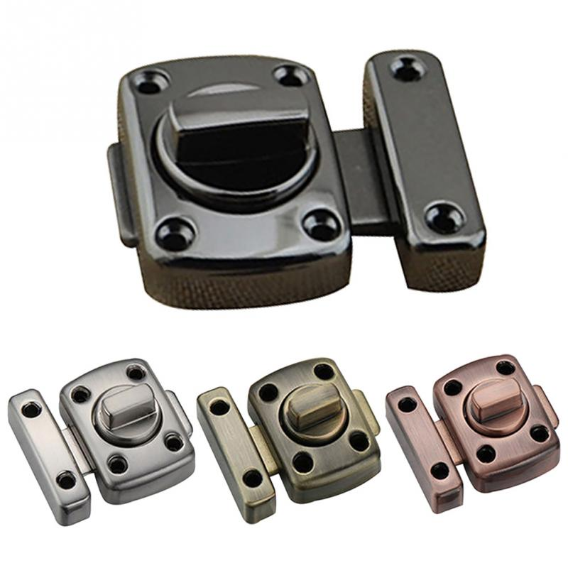Universal Door Latch Gate Latch Security Sliding Door Lock Door Bolt Zinc Alloy With Screws Latch